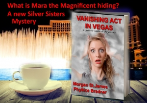 BOOK W COFFEE VANISHING ACT - what is Mara hiding
